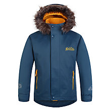 Buy Skogstad Children's Lierne 2-Layer Waterproof Jacket, Teal Online at johnlewis.com
