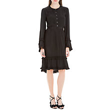 Buy Max Studio Bell Sleeve Tiered Dress, Black Online at johnlewis.com