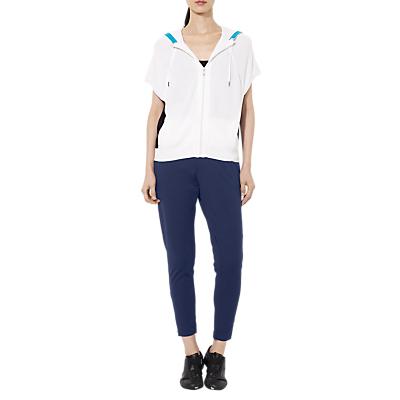 Lauren Ralph Lauren Ashelay Straight Trousers, Spring Navy