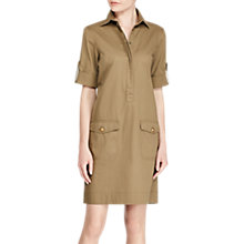 Buy Lauren Ralph Lauren Elsie Casual Dress, Autumn Sage Online at johnlewis.com