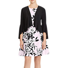 Buy Lauren Ralph Lauren Folsom High-Low Cardigan, Black Online at johnlewis.com