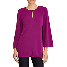 Buy Lauren Ralph Lauren Kasee Blouse, Berry Jam Online at johnlewis.com