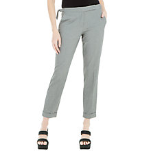Buy Max Studio Puppytooth Trousers, Grey Online at johnlewis.com