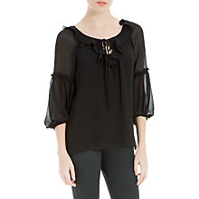 Buy Max Studio 3/4 Sleeve Ruffle Top Online at johnlewis.com
