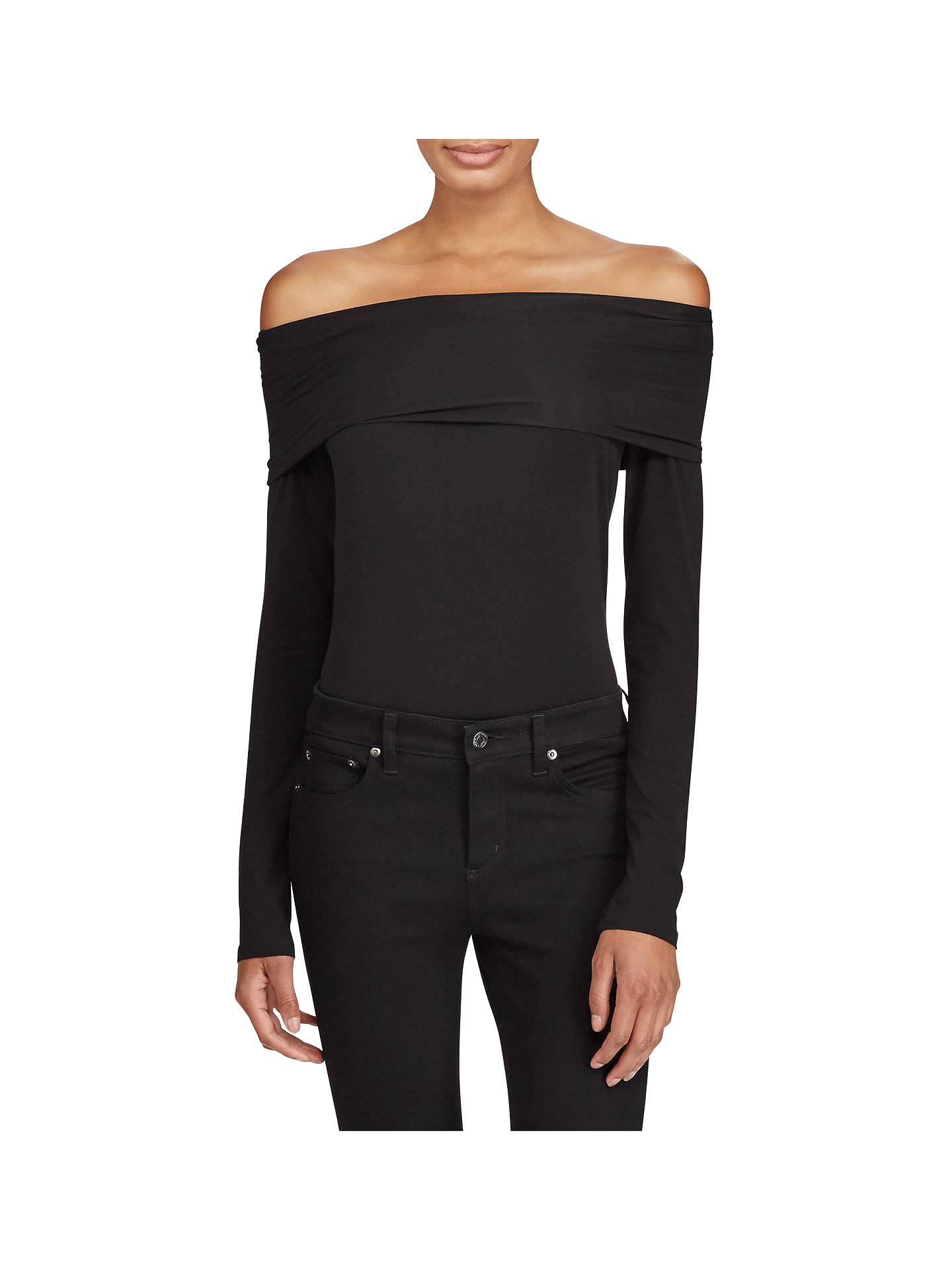 b7e0fcf4453d47 Buy Lauren Ralph Lauren Yazmeen Off Shoulder T-Shirt