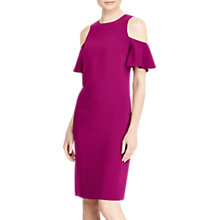 Buy Lauren Ralph Lauren Deago Casual Dress, Berry Jam Online at johnlewis.com