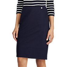 Buy Lauren Ralph Lauren Javinay Straight Skirt, Royal Navy Online at johnlewis.com
