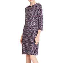 Buy Lauren Ralph Lauren Edjarra Dress, Mini Geometric Multi Online at johnlewis.com