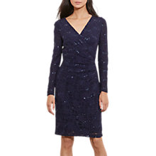Buy Lauren Ralph Lauren Ankanara Dress, Lighthouse Navy Online at johnlewis.com