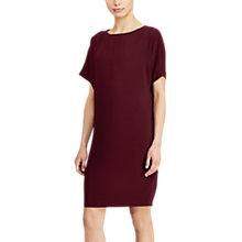 Buy Lauren Ralph Lauren Keaira Dress, Red Sangria Online at johnlewis.com