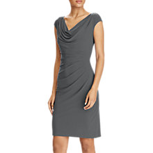 Buy Lauren Ralph Lauren Cowl Neck Stretch Jersey Dress Online at johnlewis.com