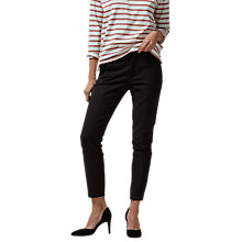 Buy Selected Femme Muse Cropped Trousers, Black Online at johnlewis.com