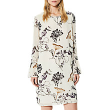 Buy Selected Femme Lima Printed Dress, Rainy Day Online at johnlewis.com