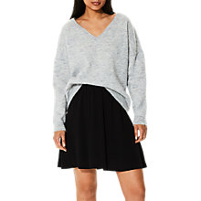 Buy Selected Femme Livana V-Neckline Knit Jumper Online at johnlewis.com