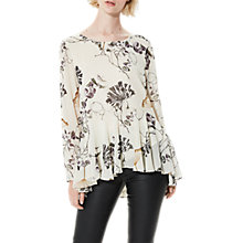 Buy Selected Femme Lima Printed Blouse, Rainy Day Online at johnlewis.com