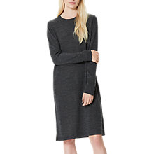 Buy Selected Femme Eileen Dress, Dark Grey Melange Online at johnlewis.com