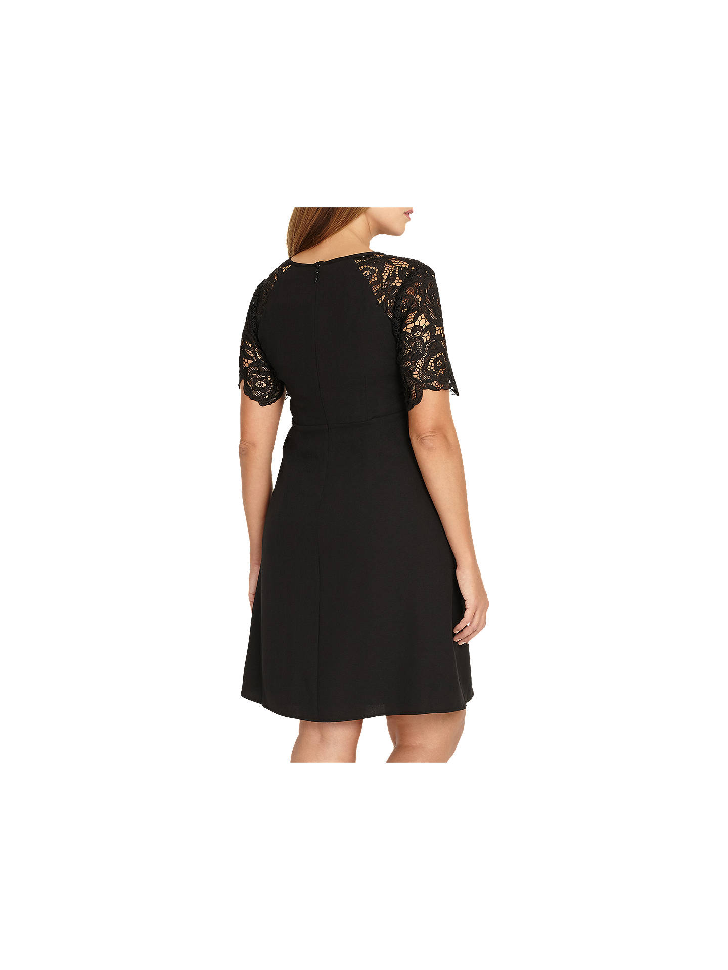 Buy Studio 8 Amber Dress, Black, 12 Online at johnlewis.com