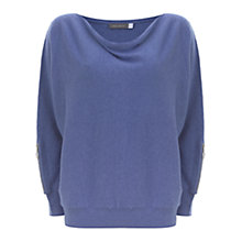 Buy Mint Velvet Studded Batwing Jumper, Iris Online at johnlewis.com