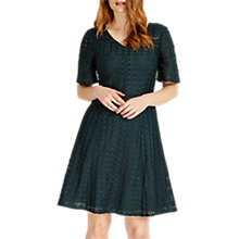 Buy Studio 8 Tess Dress, Dark Green Online at johnlewis.com