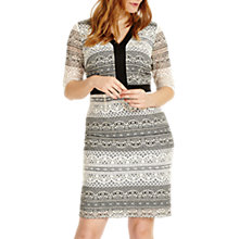 Buy Studio 8 Aniya Dress, Black/White Online at johnlewis.com