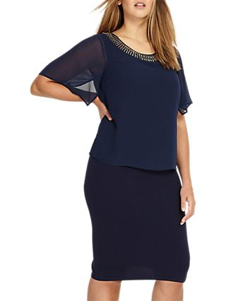 Studio 8 Harley Dress, Navy