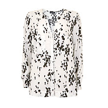 Buy Mint Velvet Sashia Print Shirt, Multi Online at johnlewis.com
