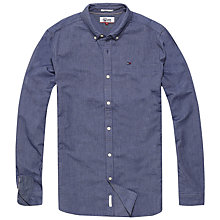 Buy Hilfiger Denim Long Sleeve Basic Solid Shirt Online at johnlewis.com