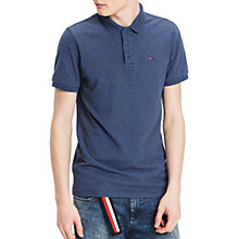 Buy Hilfiger Denim Regular Melange Polo Shirt Online at johnlewis.com