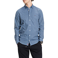 Buy Tommy Hilfiger Felga Gingham Long Sleeve Shirt, Sky Captain Online at johnlewis.com