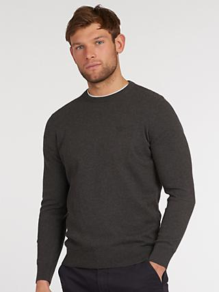Barbour Pima Cotton Crew Neck Jumper