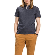 Buy Tommy Hilfiger Polo Top, Sky Captain Online at johnlewis.com