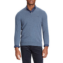 Buy Ralph Lauren Long Sleeve V-Neck Jumper Online at johnlewis.com