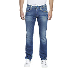Buy Tommy Jeans Original Straight Ryan Jeans, Bumbc Online at johnlewis.com