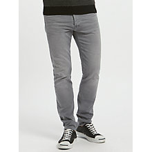 Buy Edwin ED-80 Slim Tapered Jeans, Ink Black Denim Online at johnlewis.com