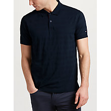 Buy Tommy Hilfiger Lance Stripe Polo Shirt, Sky Captain Online at johnlewis.com