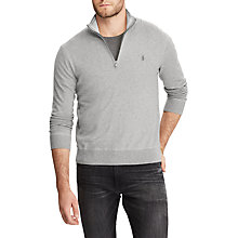 Buy Polo Ralph Lauren Long Sleeve Half Zip Jumper Online at johnlewis.com