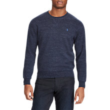 Buy Polo Ralph Lauren Cotton Crew Neck Sweatshirt Online at johnlewis.com