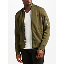 Buy Polo Ralph Lauren Long Sleeve Jacket, Company Olive Online at johnlewis.com