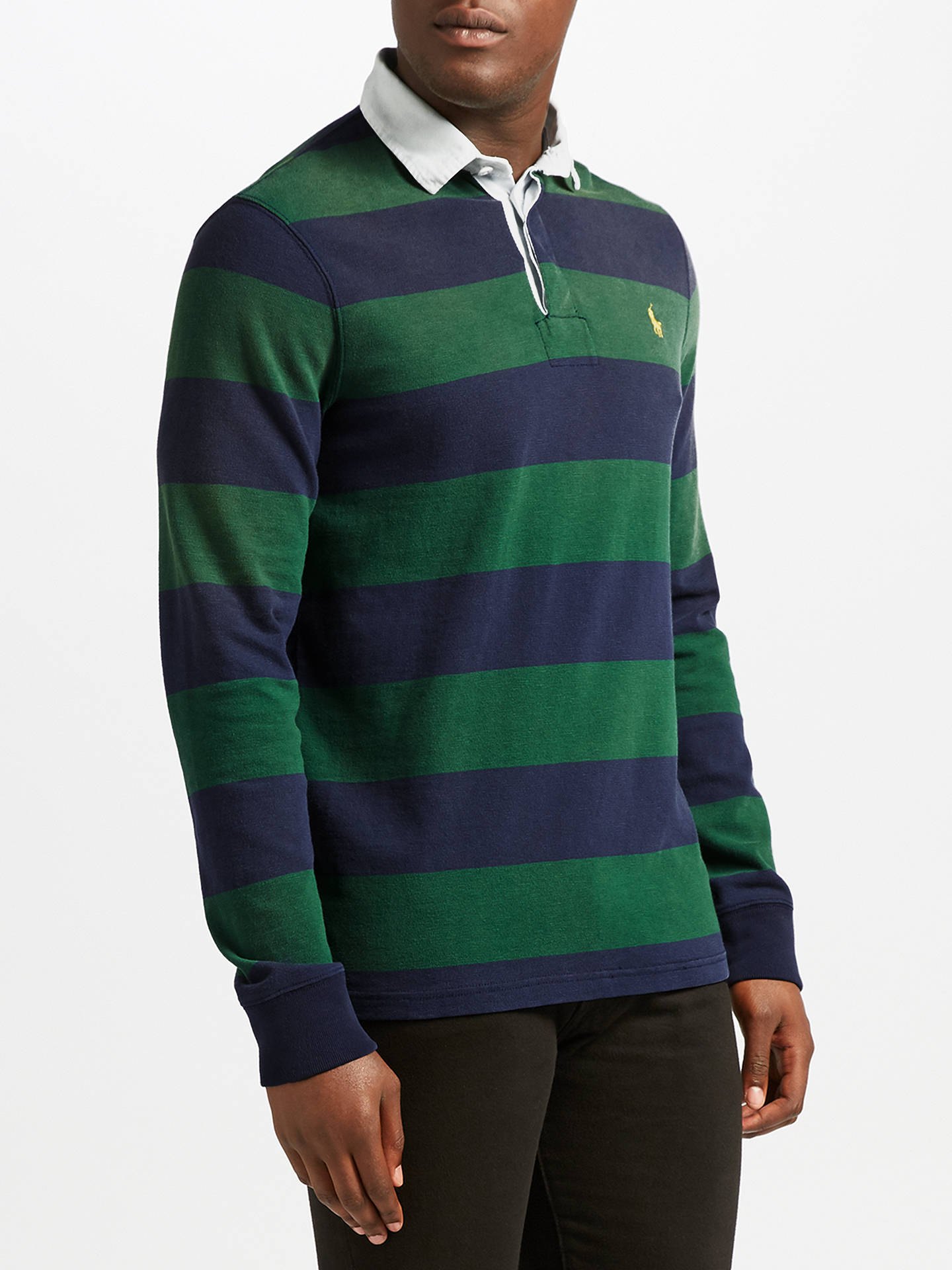 Polo Ralph Lauren Long Sleeve Rugby Knit, French NavyNew