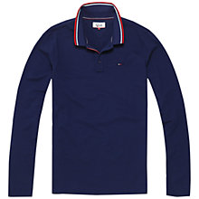 Buy Tommy Jeans Star Polo Top Online at johnlewis.com