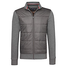 Buy Tommy Hilfiger Berny Zip Up Jacket, Silver Fog Heather Online at johnlewis.com