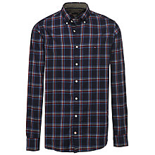 Buy Tommy Hilfiger Global Stripe Check Shirt, Maritime Blue/Multi Online at johnlewis.com