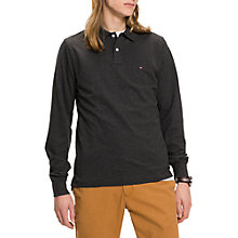 Buy Tommy Hilfiger Luxury Slim Fit Polo Shirt Online at johnlewis.com