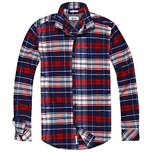 Buy Tommy Jeans Relax Check Shirt Online at johnlewis.com