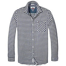 Buy Tommy Jeans Check Shirt, Navy Check Online at johnlewis.com