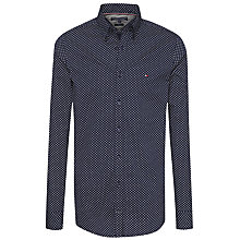 Buy Tommy Hilfiger Ranger Geo Print Shirt, Maritime Blue/Bright White Online at johnlewis.com