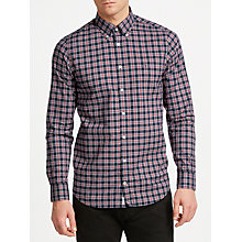 Buy Tommy Hilfiger Yelp Check Shirt, Haute Red/Multi Online at johnlewis.com