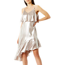 Buy Coast Belize Metallic Cami Dress, Rose Gold Online at johnlewis.com