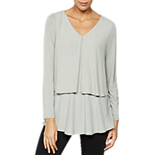 Buy Mint Velvet Double Layer Swing Top Online at johnlewis.com