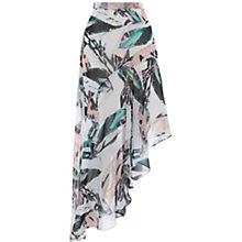 Buy Coast Butani Asymmetric Printed Skirt, Multi Online at johnlewis.com